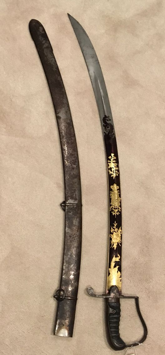 1796p Light Cavalry officer's sword by Osborn retailed by Hawkes & Moseley, Piccadilly, London