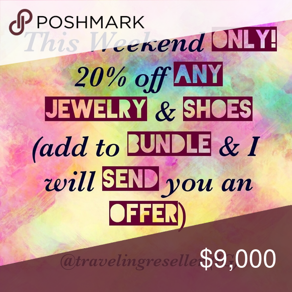 SALE  Shoes  Jewelry 20 off     Jewelry Necklaces
