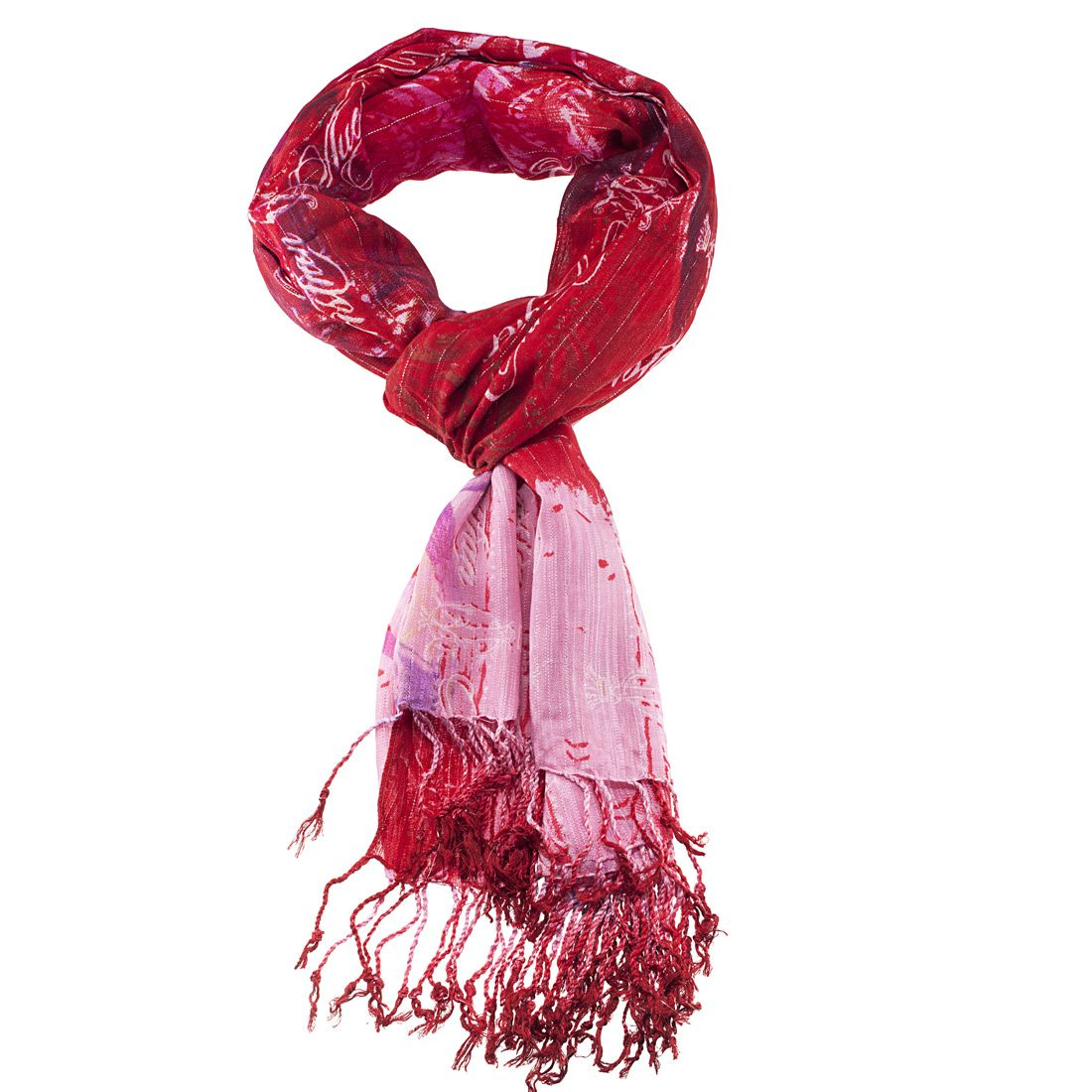 #ChristianAudigier 80x40 Logo Printed Fringe #Scarf - Pink. The Christian Audigier Scarf is a quality scarf from the Christian Audigier Scarves Collection. This Christian Audigier scarf is made of Viscose fabric. #couture #womensfashion