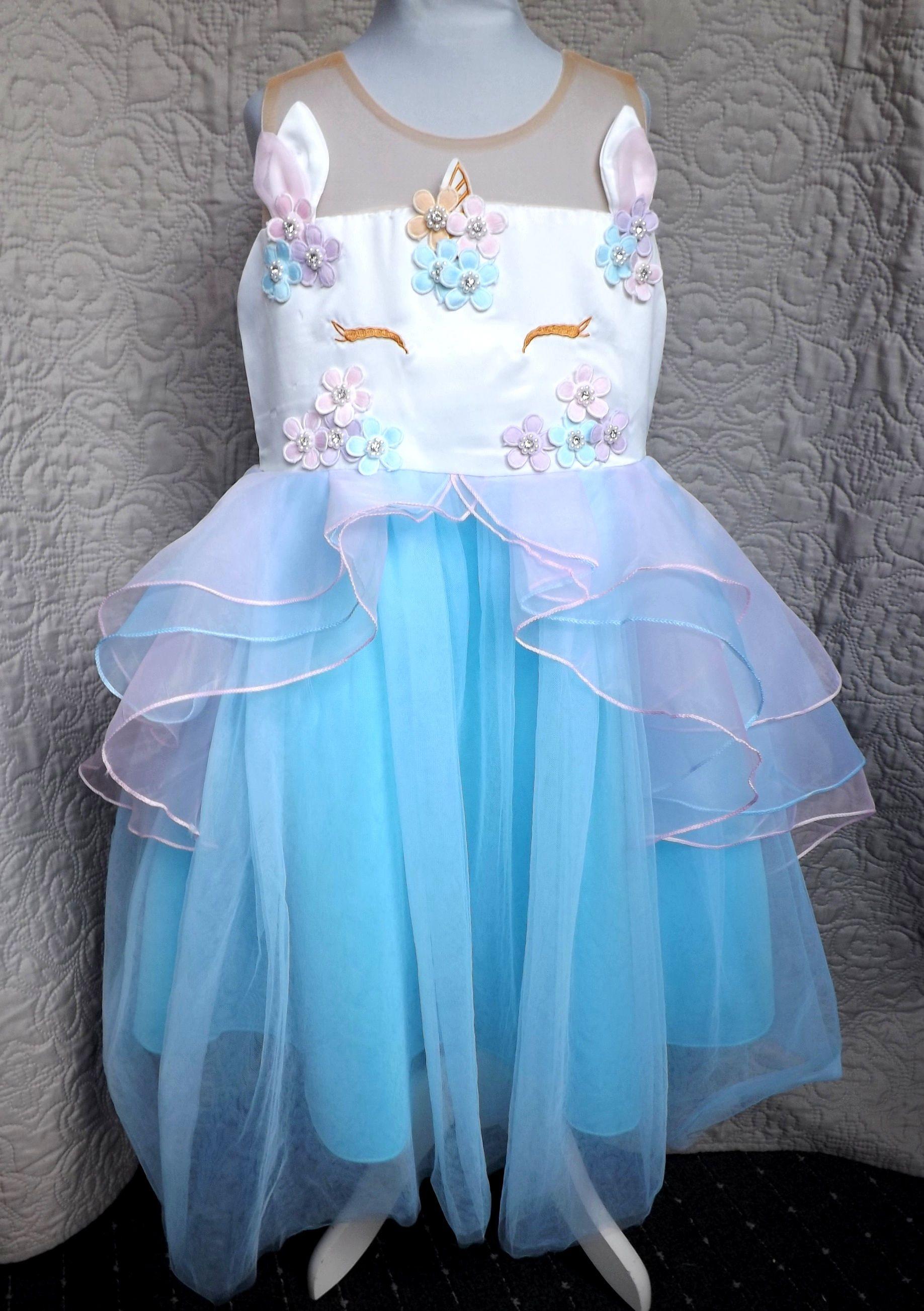 #PartyKleid #KinderKleid #GeburtstagsKleid # ...