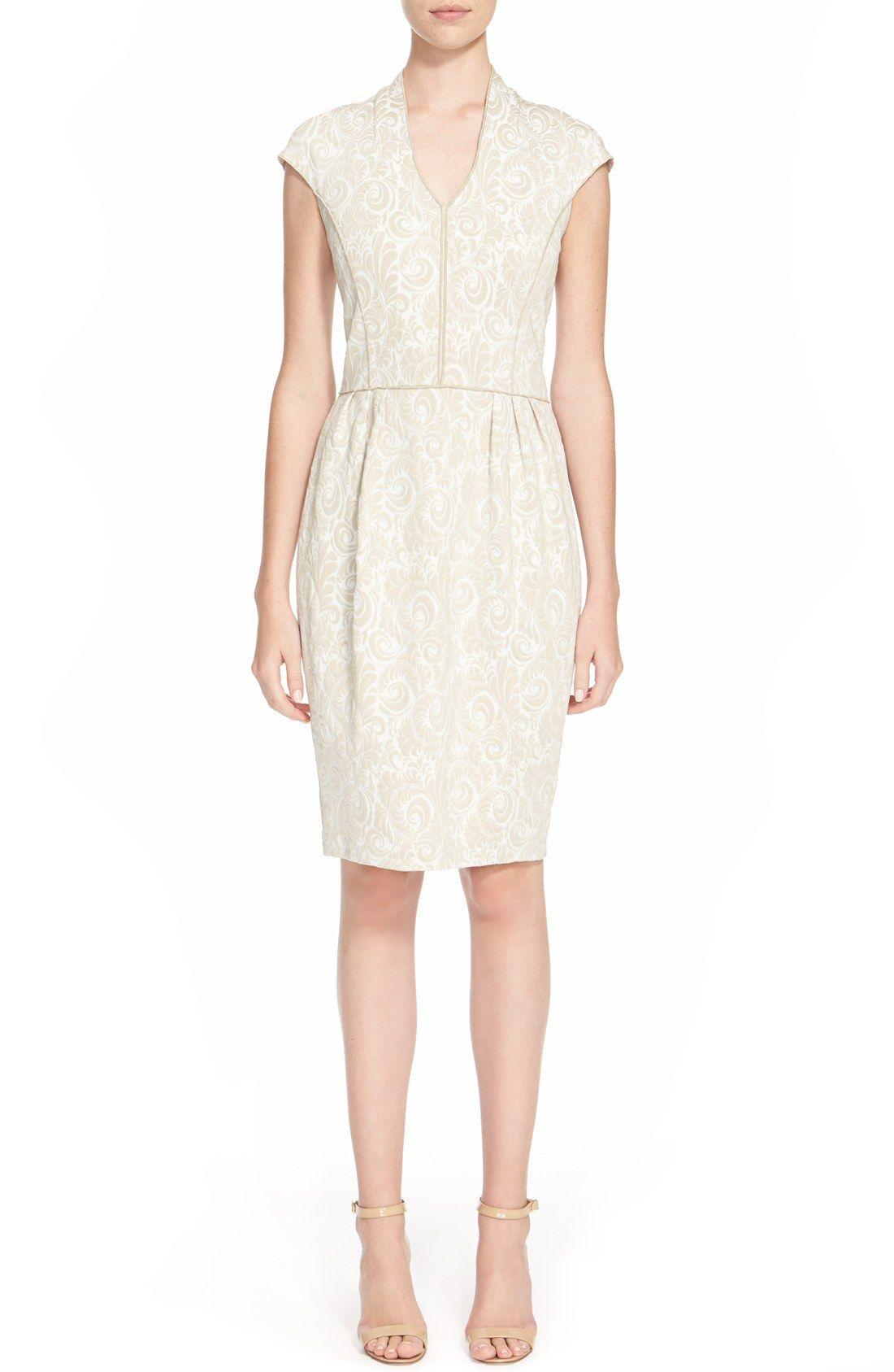 b4658f77ccef St. John Collection  Sophia  Jacquard Knit Dress