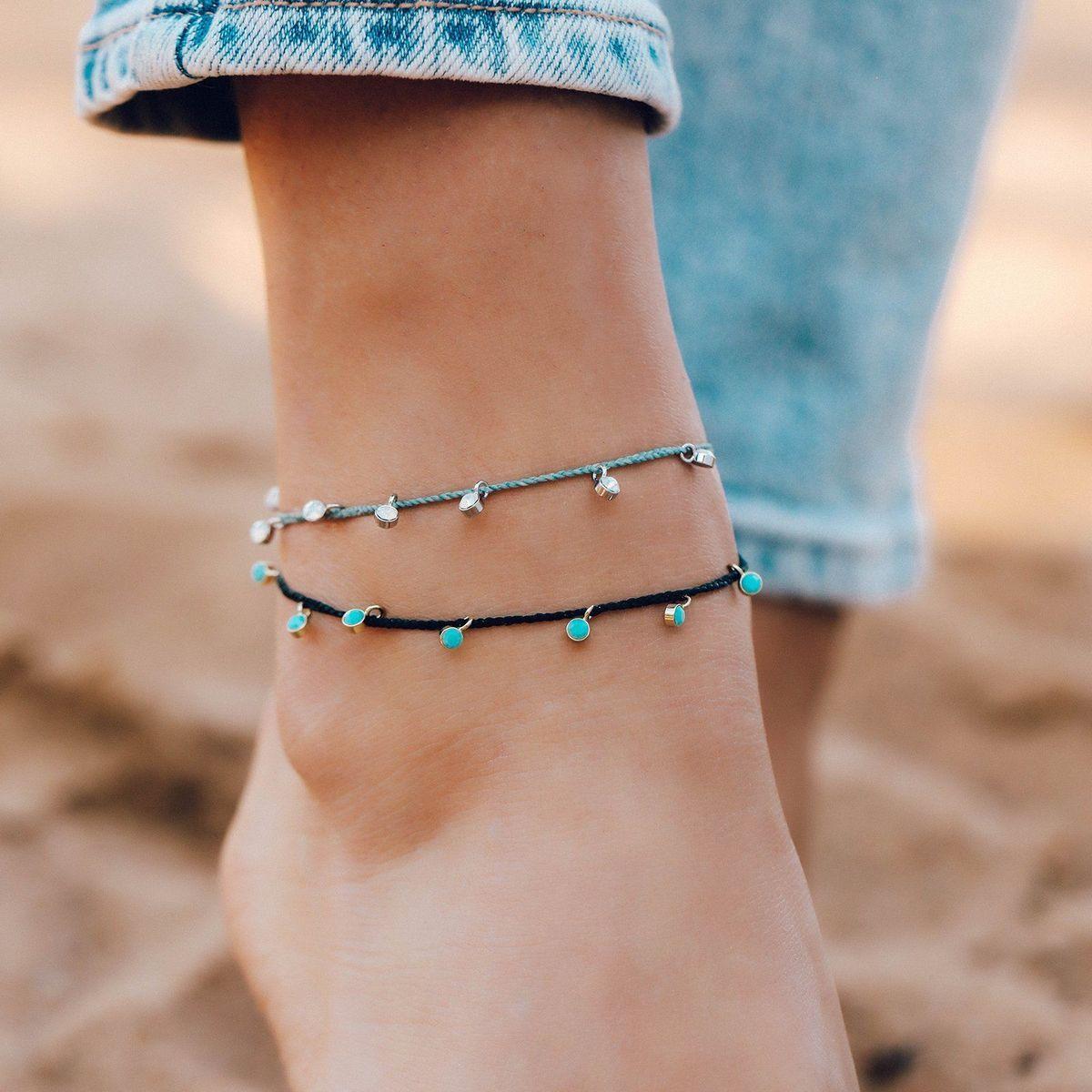 Dangling Gems Anklet | Pura Vida Bracelets