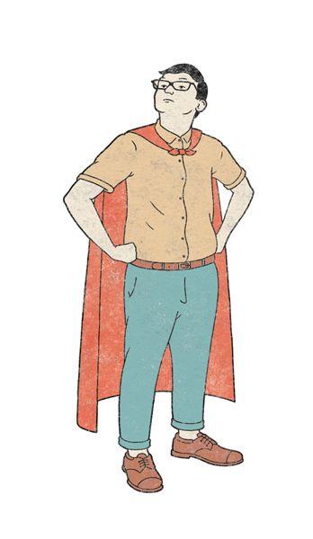 Super! - robbie porter illustration