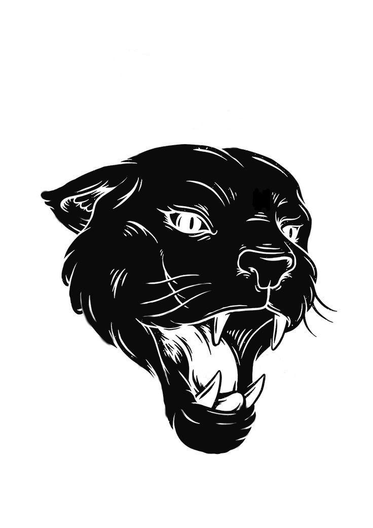 Como Dibujar Pantera Negra
