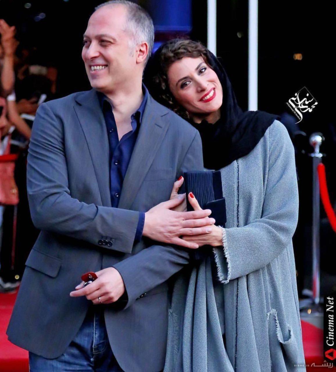 ویشکاآسایش و همسرش رضا قبادی Actresses Celebs Movies