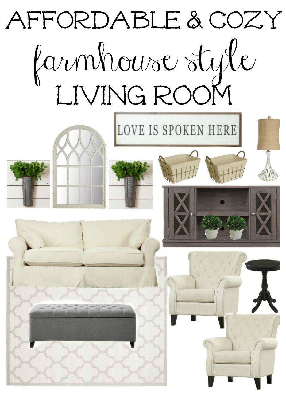 Farmhouse Rehab Affordable Living Room Makeover Rental Living