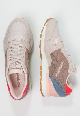 Sneakers laag Reebok Classic GL 6000 FLEUR - Sneakers laag - white/taupe/blue Nude: € 89,95 Bij Zalando (op 3-12-15). Gratis bezorging & retournering, snelle levering en veilig betalen!