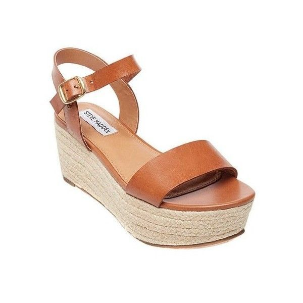 2e65f11e128 Women s Steve Madden Busy Flatform Sandal ( 90) ❤ liked on Polyvore  featuring shoes