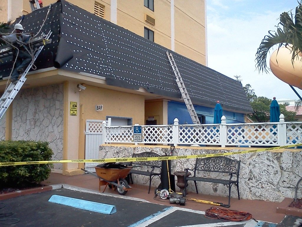 Flat Roof Leaks And Damage Repair At United Construction Solutions Roof Repair Roof Leak Repair Roof Maintenance
