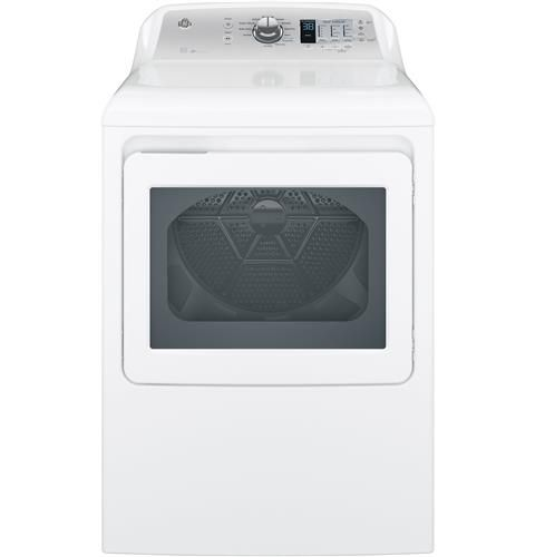Ge 6 1 Cu Ft Capacity Aluminized Alloy Drum Electric Dryer With He Sensor Dry Model Gtx65ebsjws Gas Dryer Electric Dryers Ge Appliances
