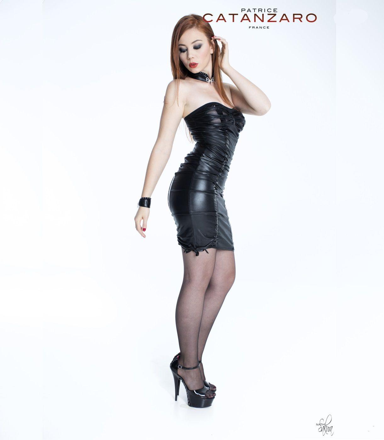 bd29b0f60ff3b5 Tamara Dress Wetlook by Patrice Catanzaro. Shop it at Xenses-shop.com.  Worldwide Express Delivery - TAX-Free 21%