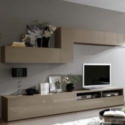 meuble tv mural design oslo atylia | meuble tv | pinterest | tvs ... - Meuble Tv Composable Design