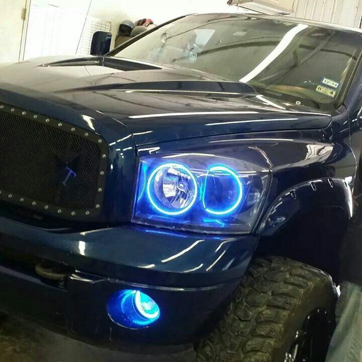 Custom Oracle headlights