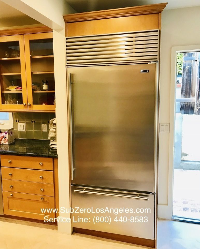 Sub Zero Refrigerator Model 650 Repaired By Us In Beverly Hills
