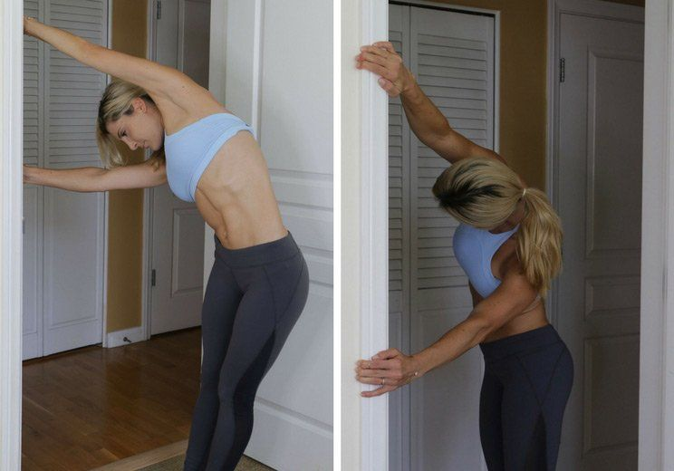 how to pop your upper back at home