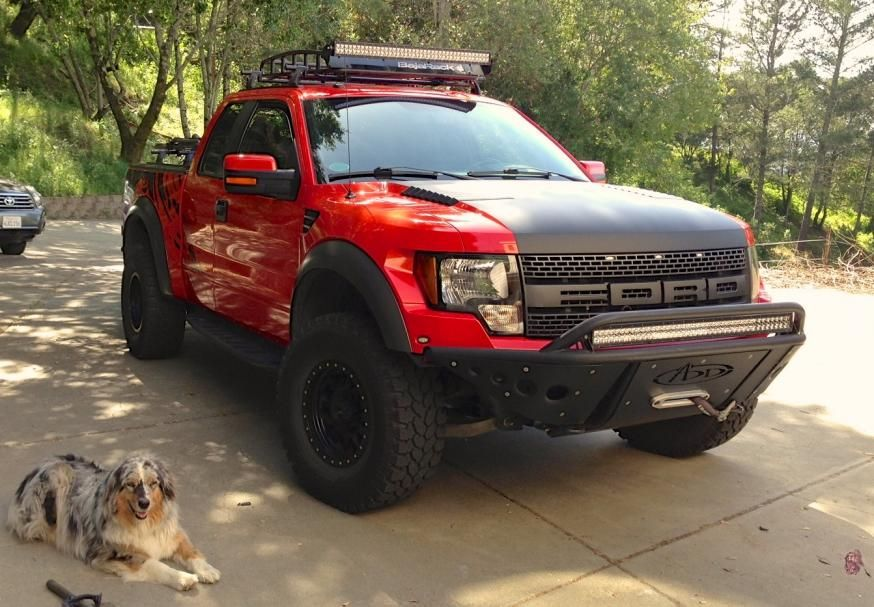 Ford Raptor Stealth Front Bumper With The Winch Option Ford Raptor Truck Bumpers Offroad Trucks