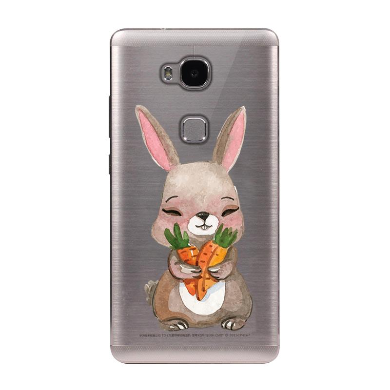 Huawei Honor 5X Case Cover Cute Coque Honor 5X TPU Phone Back ...