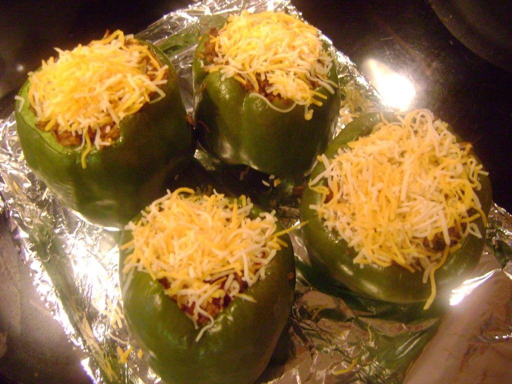 Easy Stuffed Pepper Recipe Easy Stuffed Pepper Recipe Easy Stuffed Peppers Peppers Recipes
