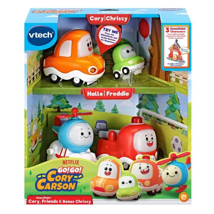 Vtech Go Go Cory Carson Smartpoint Vehicles Cory Friends Bonus Chrissy In 2020 Vtech Toy R Toys R Us