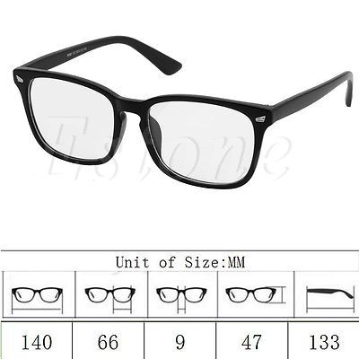 924106f9679 New Fashion Retro Vintage Men Women Eyeglass Frame Full Rim Glasses  Spectacles