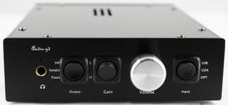 Audio-GD NFB-15 Chinese made Dac/Amp combo with fantastic feedback.  About $320 shipped