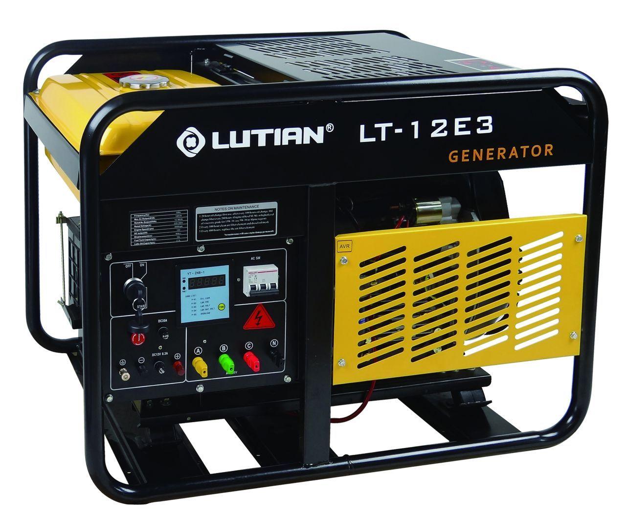Lutian Lt12e Akulu Dizel Jenerator 220v 10kva Agirliklar
