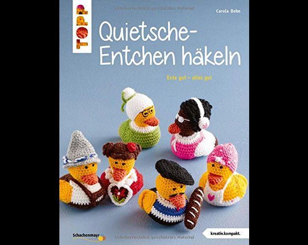 Quietsche Entchen Häkeln Amigurumi Made By Lieblingsmaschen Via