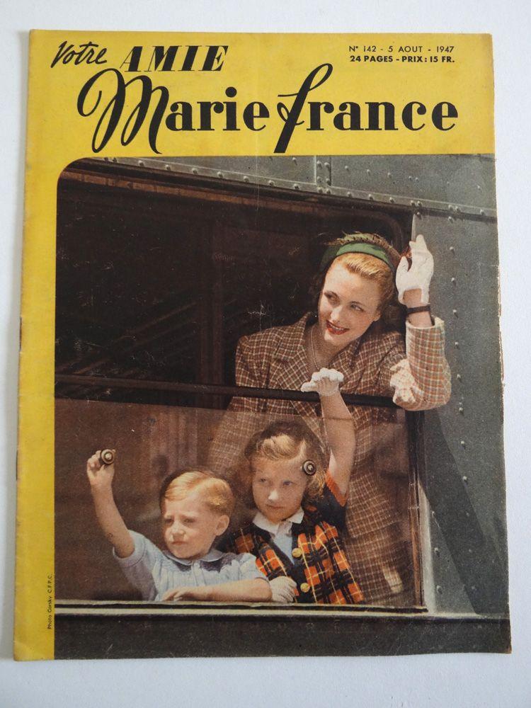 Magazines Marie France 1947