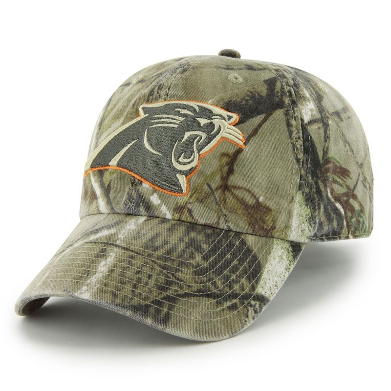 online store 37336 18fb7 Carolina Panthers  47 Clean Up Realtree Adjustable Hat - Camo