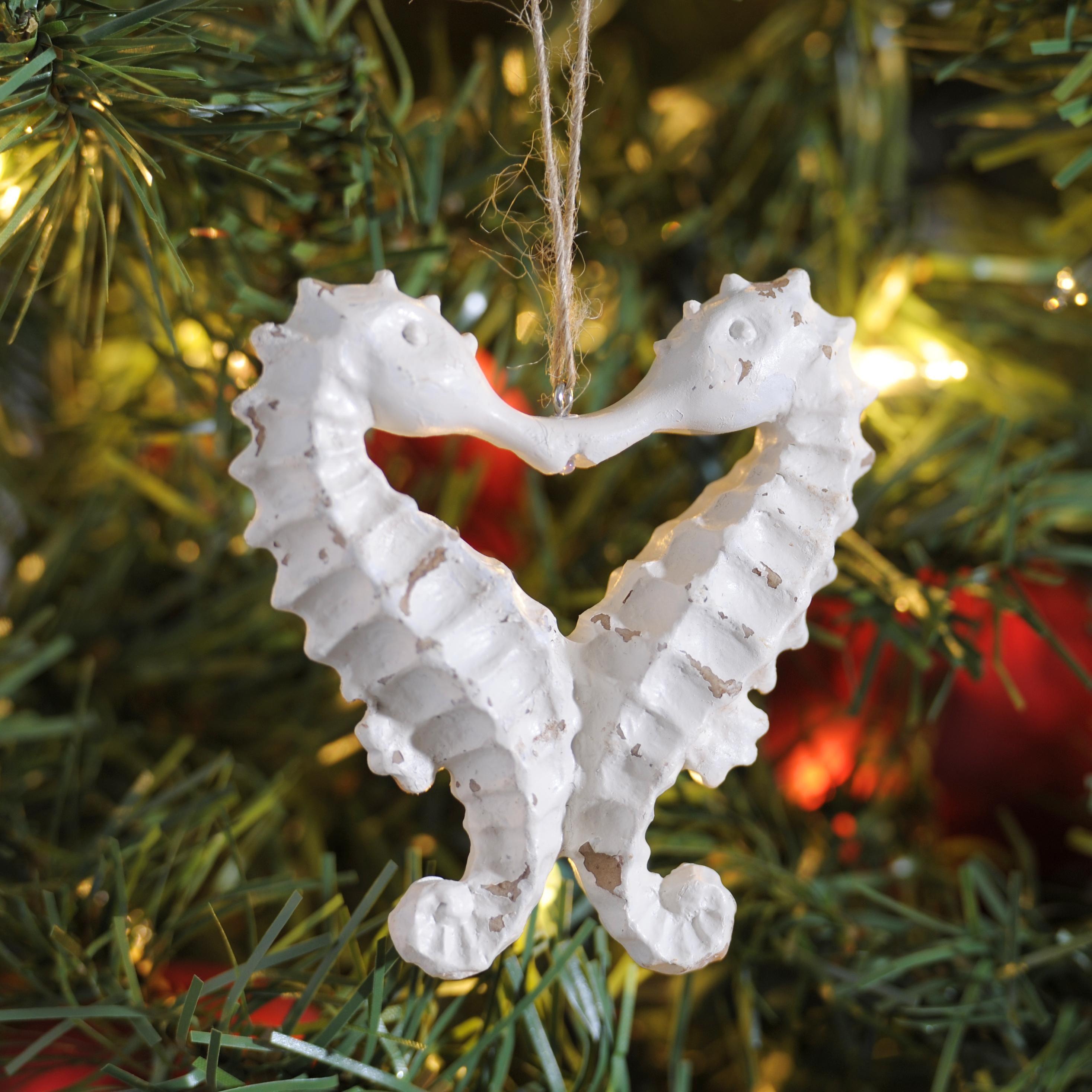 Nautical tree ornaments - Beach Christmas Trees