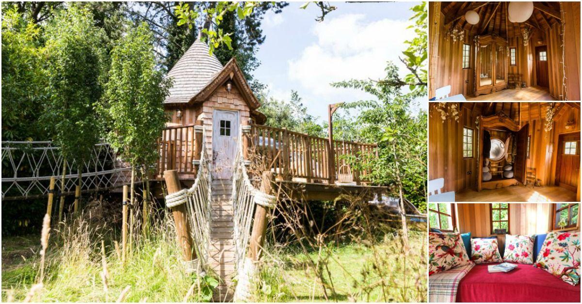 Faunu0027s Realm Treehouse Ist Ein Kleines Spielhaus Der Schiere Verzauberung   Dekoration  Ideen 2018