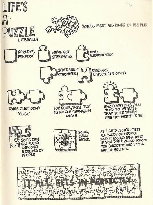 My all-time favourite puzzle analogy