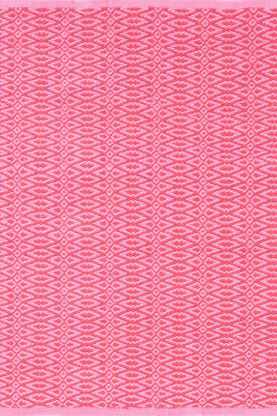Fair Isle Pink/Fuchsia Cotton Woven Rug | Apartment | Pinterest ...