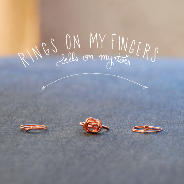 DIY wire rings | blogged : field notes from my couch | Pinterest ...