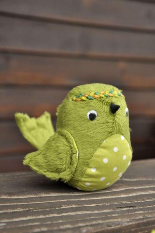 Wróbelek, ptaszek przytulanka - ami2 - Maskotki i pluszaki