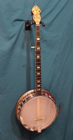 1940s Bacon Day Serenader Silver Bell 5 String Banjo Banjo