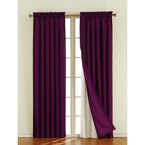Sound Asleep Blackout Window Curtain Liner Bed Bath Beyond