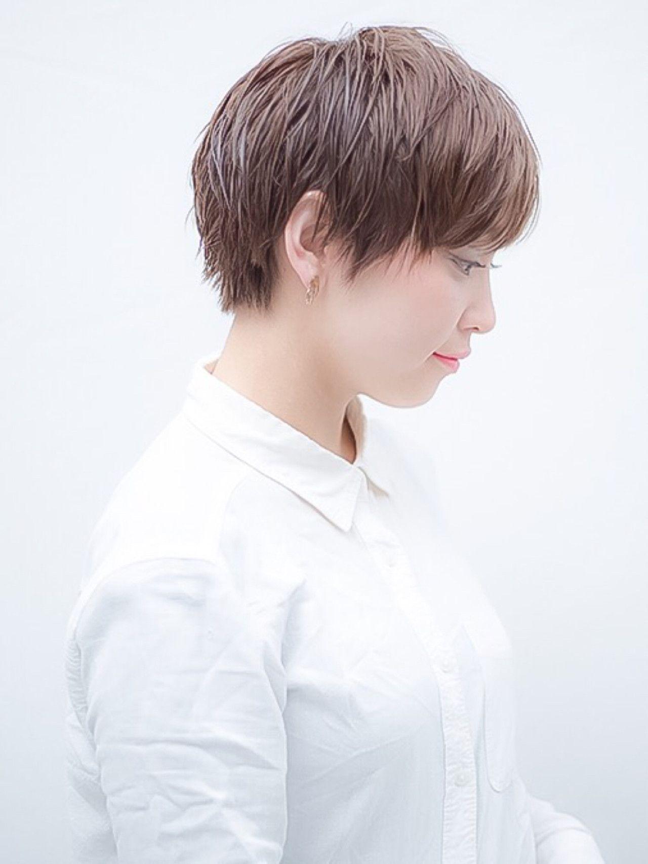 ジェンダーレス女子を極めるオススメ髪型 テイスト別スタイル集