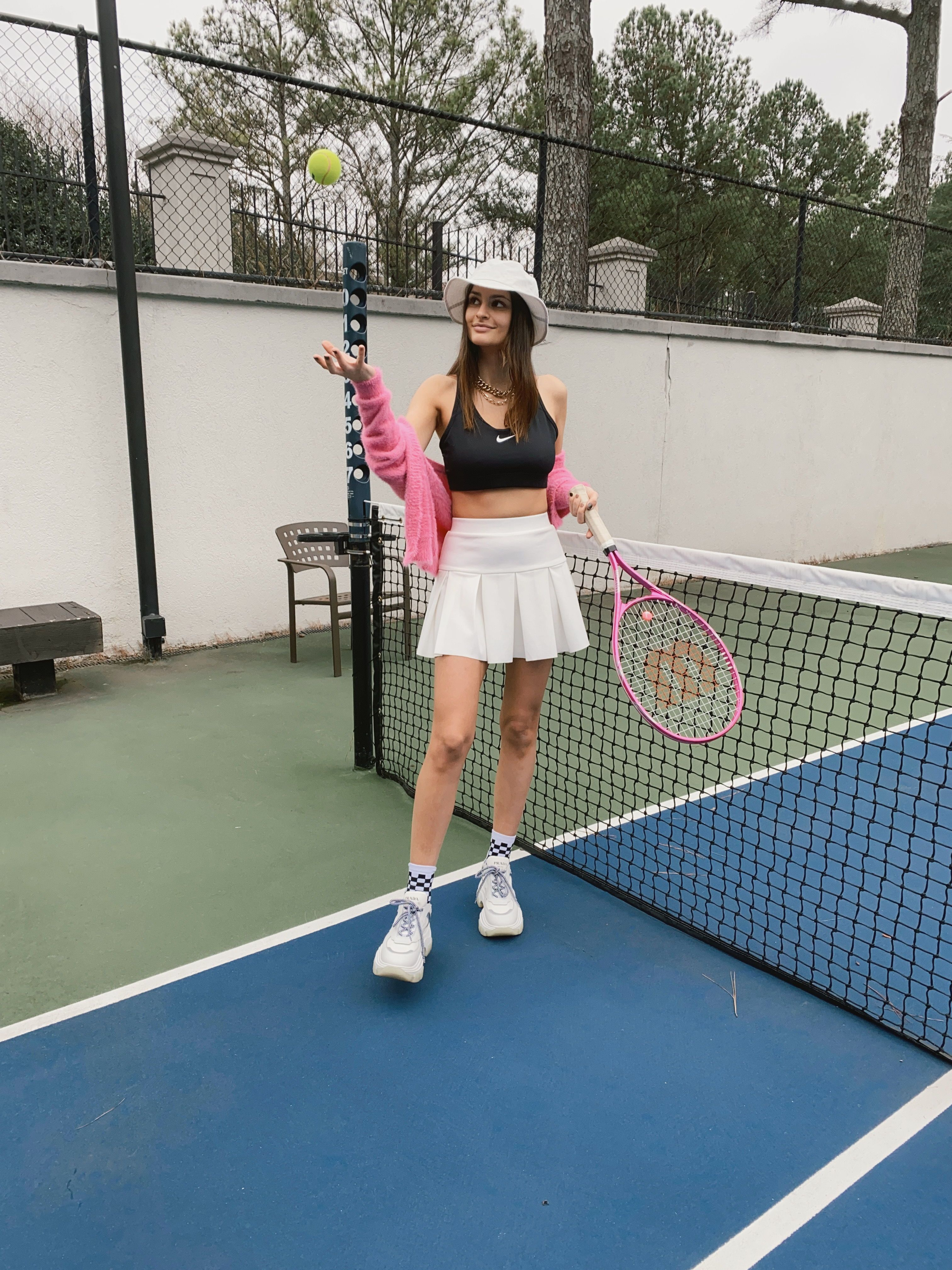 Princess Polly Outfit Tennis Court Style In 2020 White Tennis Skirt Tennis Skirt Outfit Tennis Clothes
