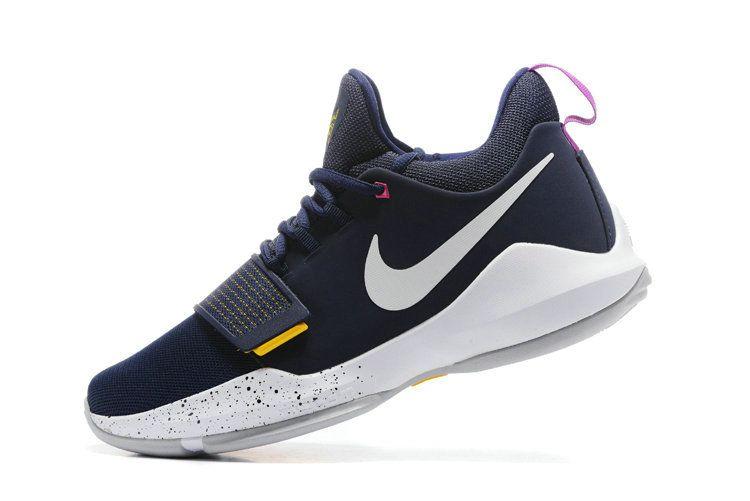 2018 Factory Authentic Nike PG 1 Ferocity Obsidian University Gold Hyper  Violet 878627-417