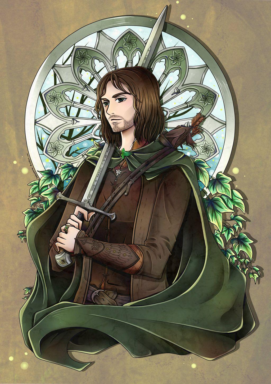 Aragorn Son Of Arathorn Aragorn Tolkien Artwork Lotr Art