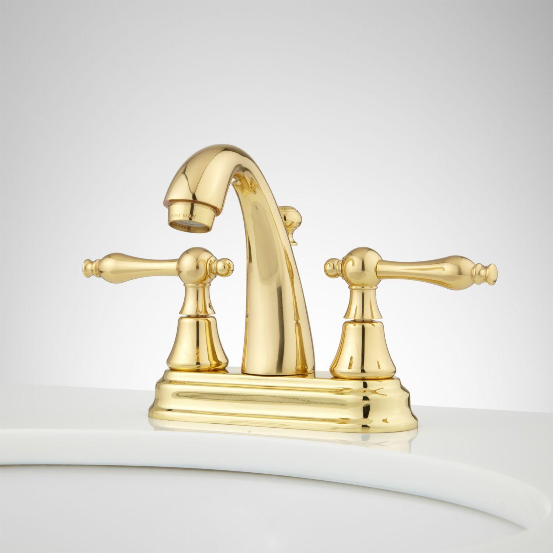Dalles Centerset Gooseneck Bathroom Faucet | Faucet and Faucet handles
