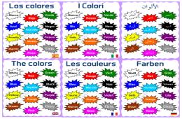 The Colors Les Couleurs Farben Los Colores I Colori الألوان Color Blanket Crochet Blanket