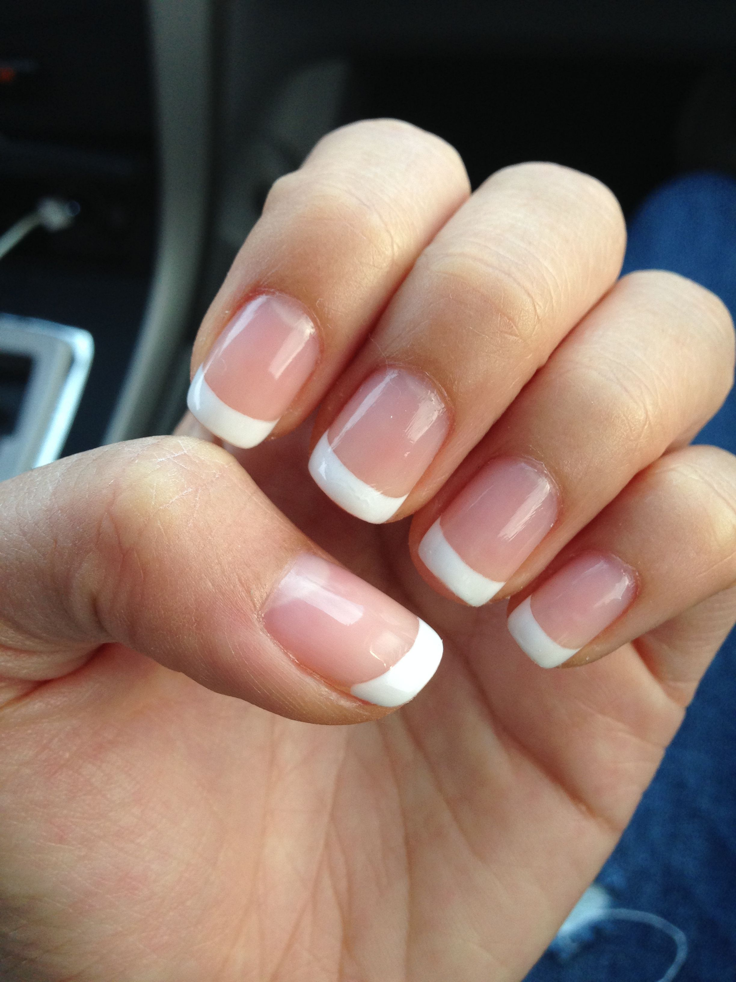Gel Nails: French Tips Natural Look | Nails | Pinterest | Gel nails ...