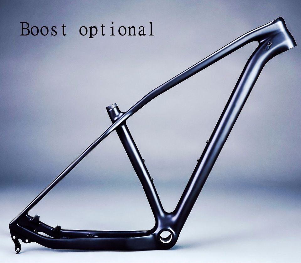 Boost Rear 12*148mm 29er Mountain Bike Frame 3K UD Full