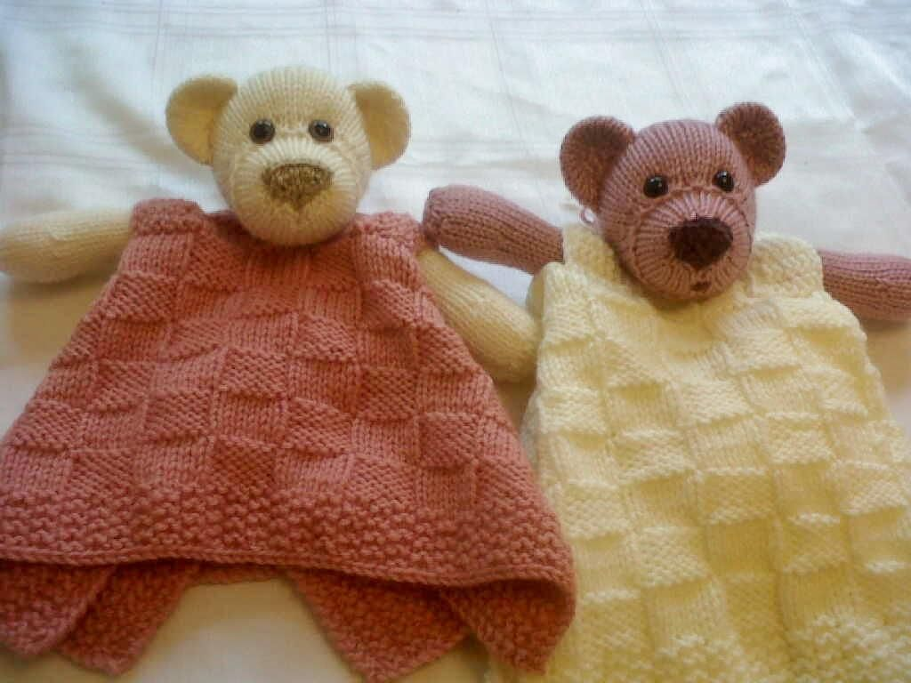 Bear Buddy Comfort Blankie | Pinterest | Bears, Knit patterns and ...