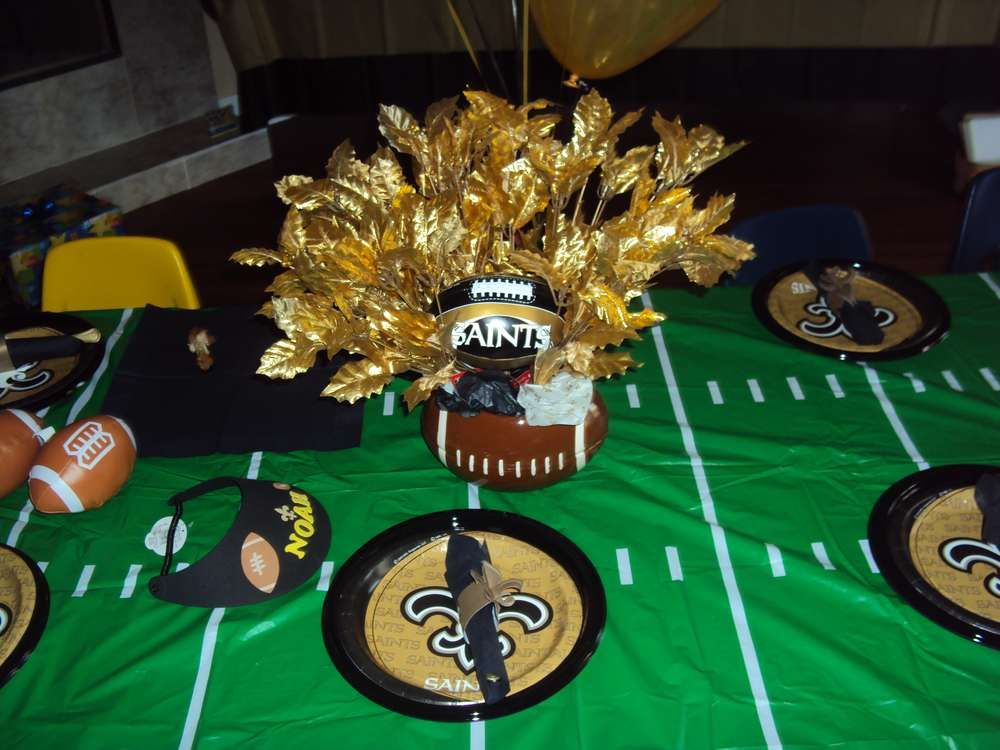 New Orleans Saints Birthday Party Ideas