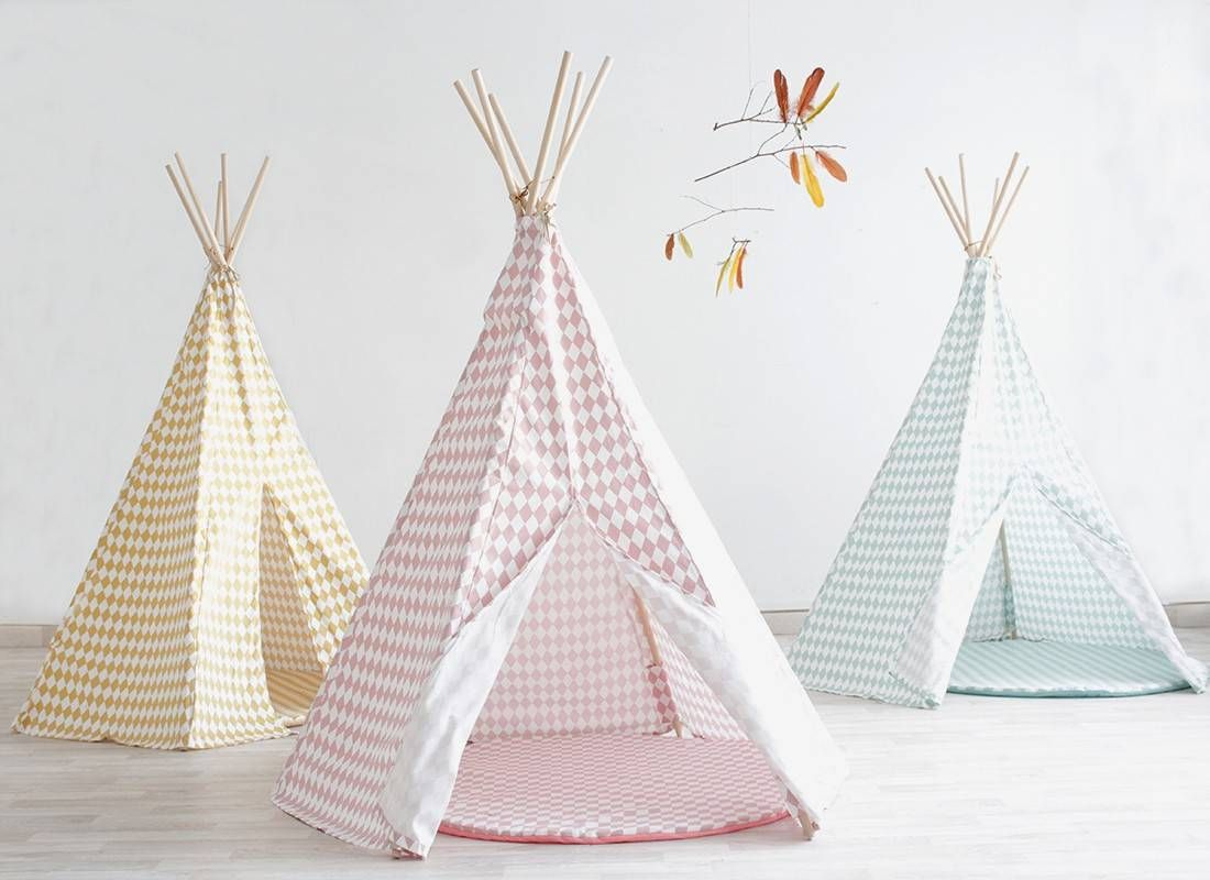 mon prochain diy le tipi enfant inspirations et tutos blog d co tipi enfant chambres. Black Bedroom Furniture Sets. Home Design Ideas
