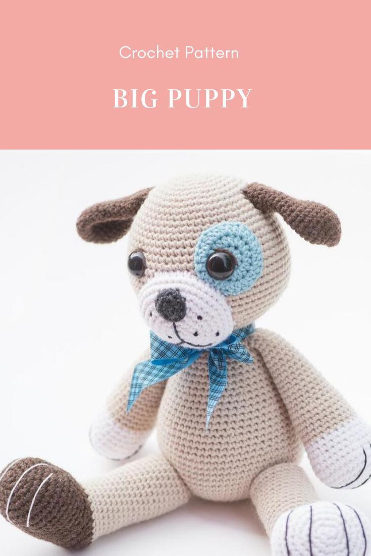 11 Amigurumi Dog Crochet Patterns – Cute Puppies - A More Crafty Life | 1102x735