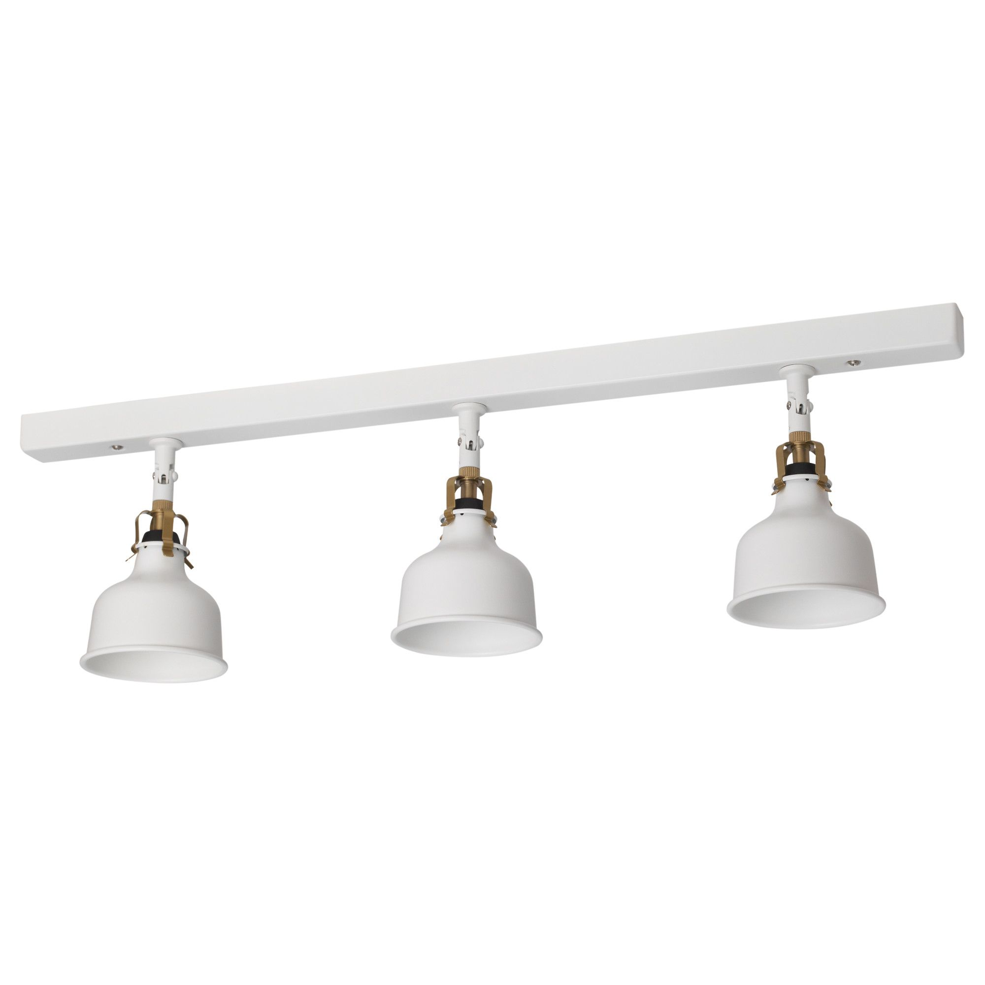 RANARP Ceiling track, 3-spots Off-white | Brew | Pinterest ...